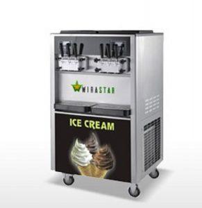 Membuat es krim cone