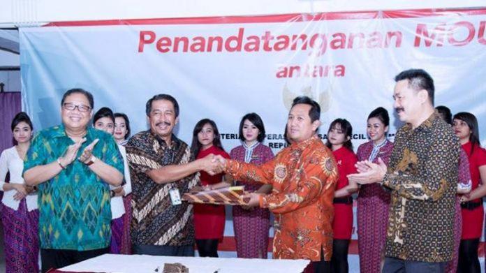 LLP-KUKM Sinergian Produk KUKM Dengan Lion Air