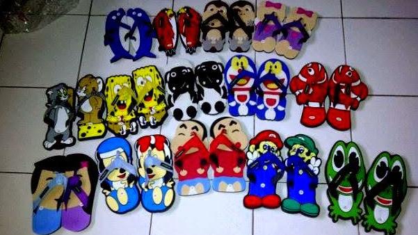 bisnis sandal lucu indonesia