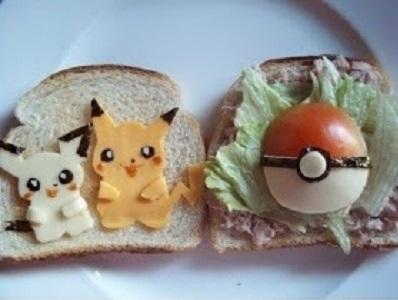 roti bakar pokemon - makanan ala pokemon