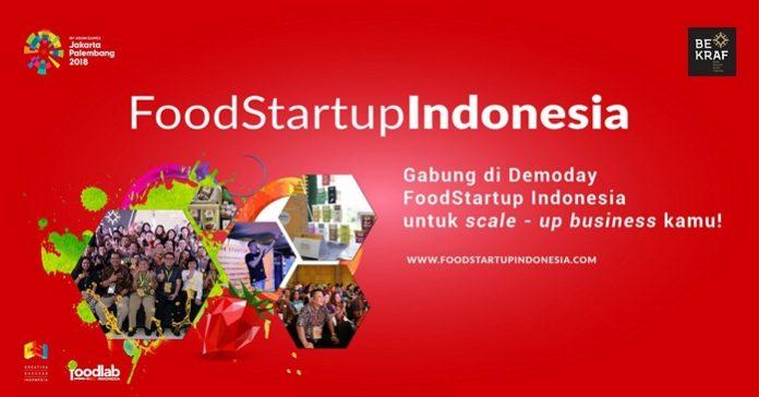 Food Startup Indonesia 2018