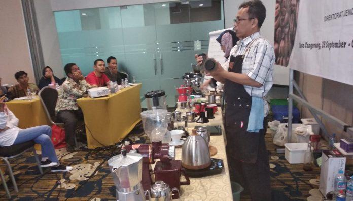 pelatihan barista kursus kopi
