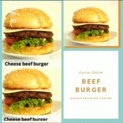 kursus online beef burger