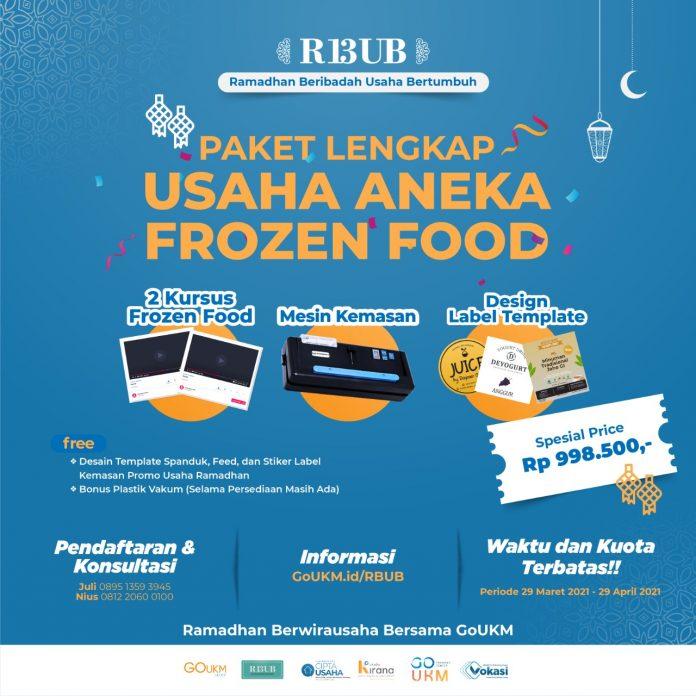 Paket Lengkap Aneka Usaha Frozen Food